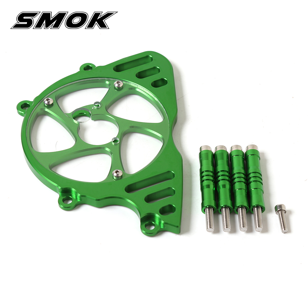 SMOK Motorcycle Accessories Front Sprocket Chain Guard Cover Left Side Engine Protective Cover For KAWASAKI Z1000 2010-2017 motorcycle accessories 650tr left front fender