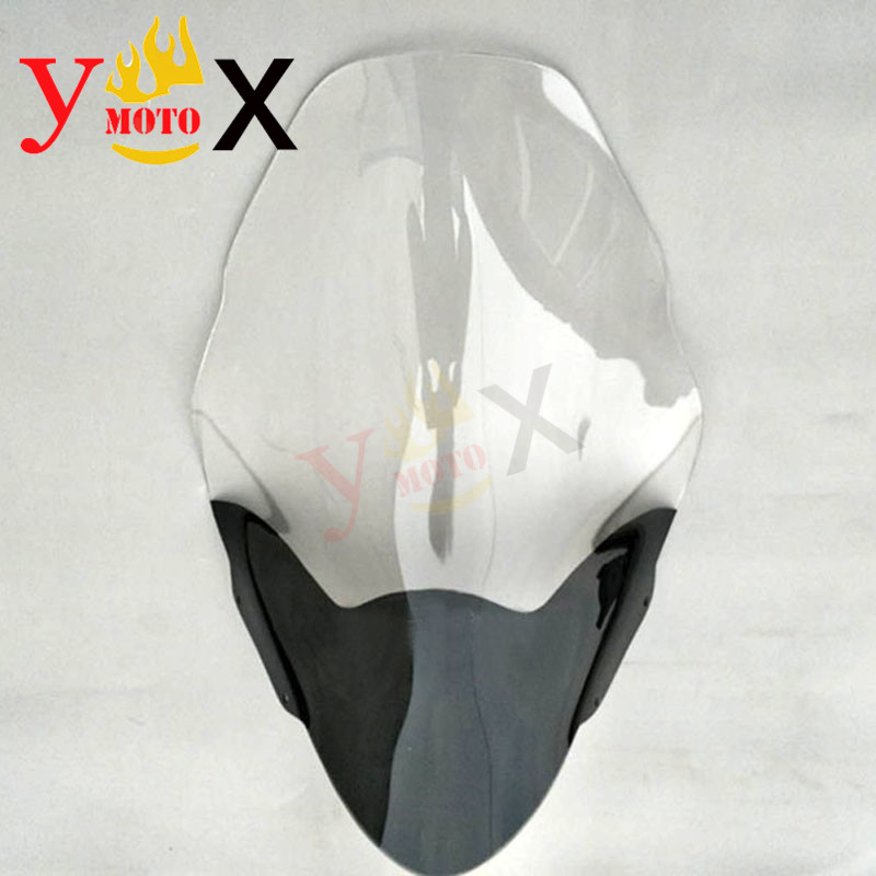 PCX Scooter Motorcycle Clear ABS Windscreen Windshield Wind Glass Front Deflector Faring For HONDA PCX125 PCX150