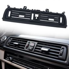 цена на Central Air Vent Dashboard Console Center  Fresh Air Outlet Vent Grille Cover For BMW 5 F10 F18 Air-conditioning Installation Re