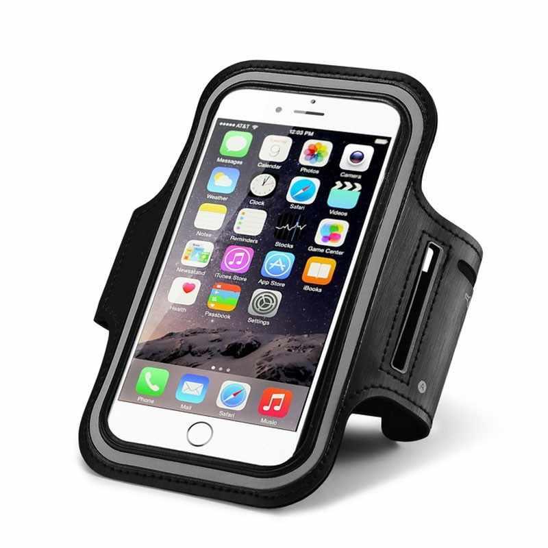 Нарукавный чехол для занятий спортом и бега для IPhone 6s 6 7 8 Plus X чехол для телефона на руку для samsung S9 S8 для Xiaomi ленточный ремень на руку тренажерный зал чехол для телефона 6 дюймов