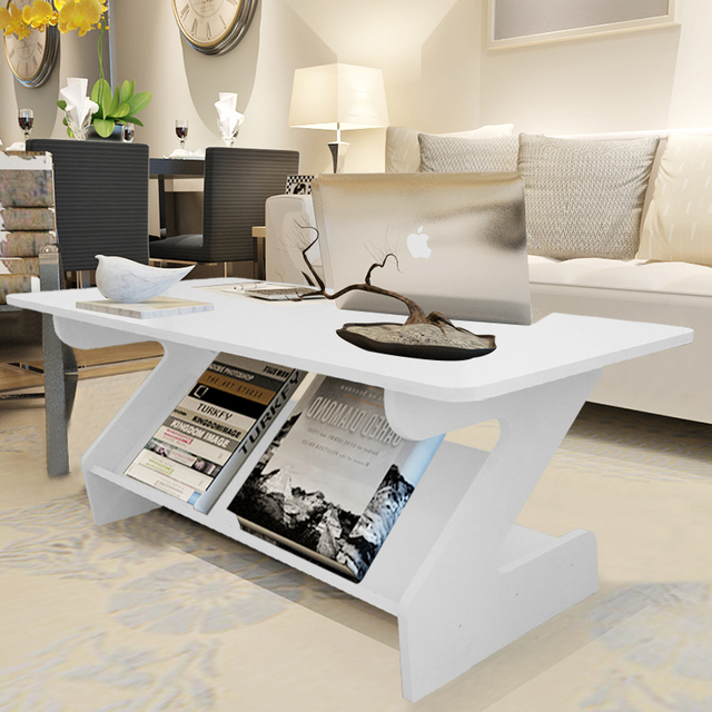 Creative Petit Multi Fonctionnelle Z Style Table Basse Salon