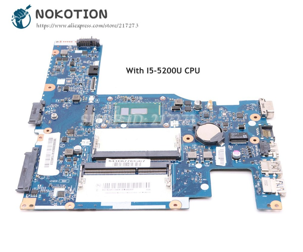 Nokotion Aivs3 Aive3 La-c311p Laptop Motherboard For Lenovo E31-70 13.3 Inch Sr23y I5-5200u Main Board Works High Quality Materials Laptop Accessories Laptop Motherboard