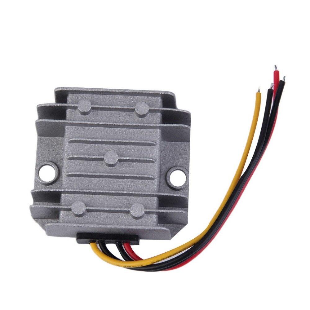 Waterproof DC/DC Voltage Converter Regulator 24V Step Down to 12V 5A Adaptor