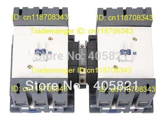 CJX2-150N Mechanical Interlocking Contactor 150A cjx2 115n mechanical interlocking contactor 115a