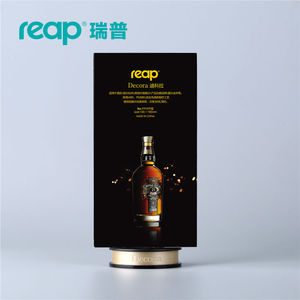 Image 4 - 5 pack Reap Decora PS T shape desk sign holder card display stand table menu service Label drink brand conference meeting