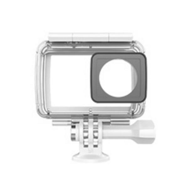 Prix pour 100% D'origine xiaomi Yi Caméra Accessoires et Pièces Boîtier Étanche Plongée 40 m Étanche pour Xiaomi YI 4 K Camera Action 2