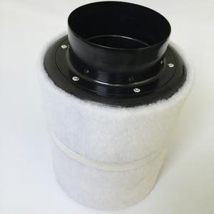 Image 5 - MasterGrow 4/5/6/8 inç santrifüj fanlar ve aktif karbon hava filtre seti kapalı hidrofonik büyütme çadırı seralar ışık büyümeye yol açtı