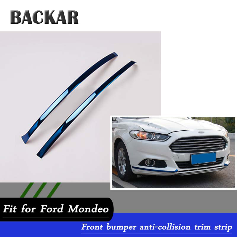 Stainless High Position Brake Lamp Cover trim For Ford Fusion Mondeo 2013-2018