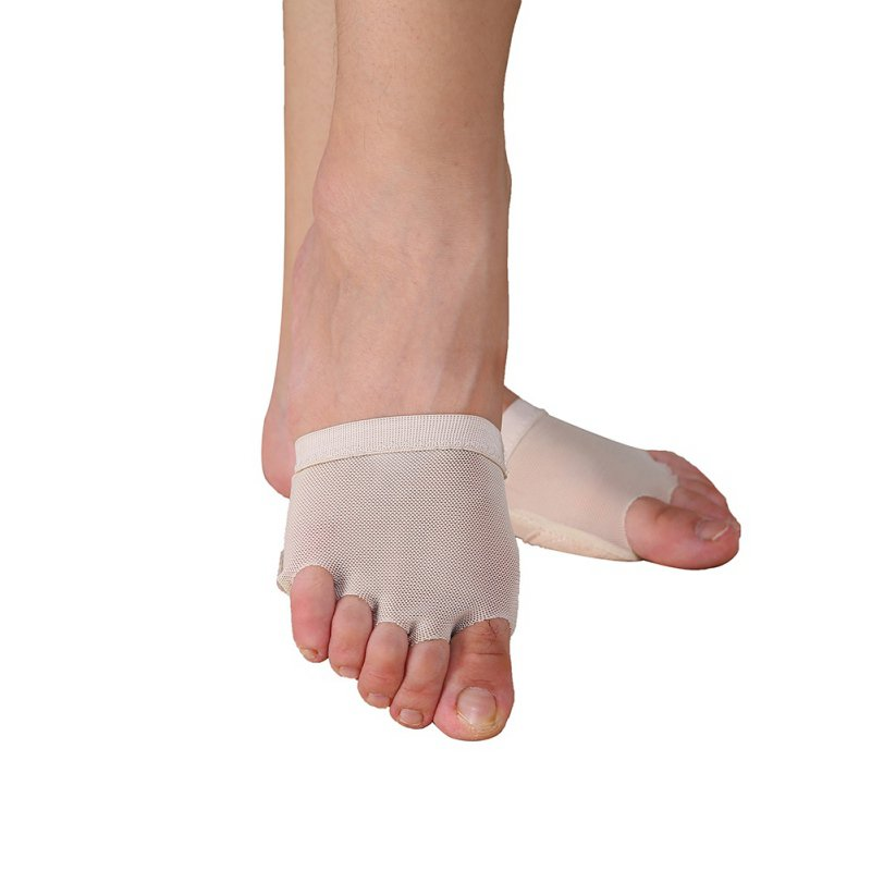 Toe Cyst Foot Care Tool Belly Ballet Dance Foot Thong Toe Pad Practice Shoes Metatarsal Forefoot Half Foot Protection