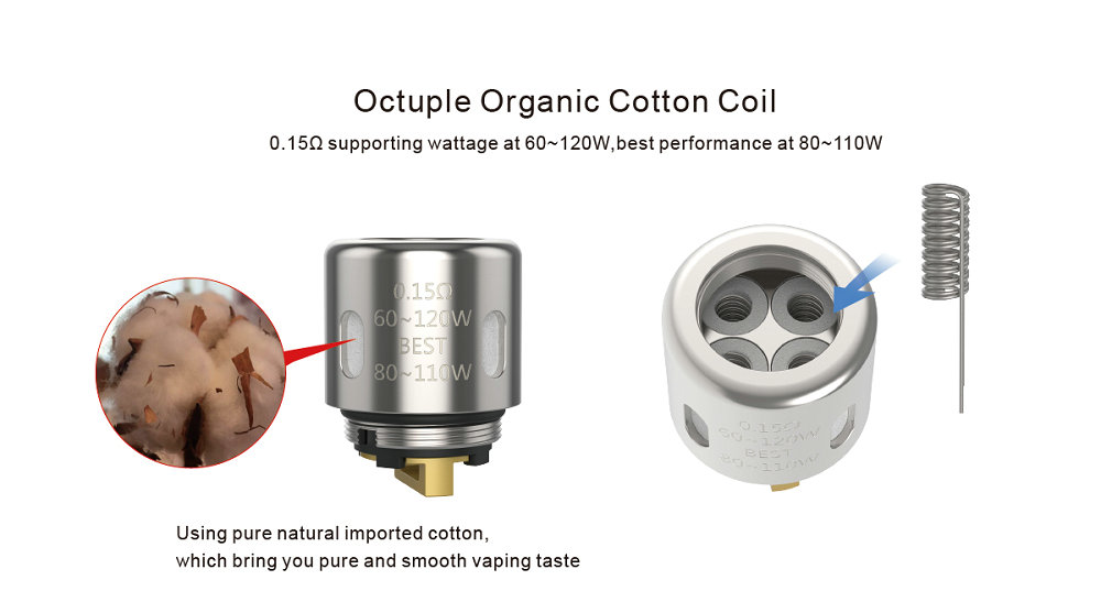 Original UD Youde Zephyrus V3 Tank with OCC Coil Or DIY RBA Coil Head Electronic Cigarette Atomizer Vape VS Smok TFV8 Baby Tank