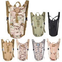 Bicycle Cycling Climbing Hiking Outdoor Sports Water Bag 3L Hydration Packs Tactical Water Bag Camping Assault