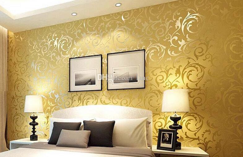 10meter 3d European waterproof living room wallpaper bedroom sofa tv ...