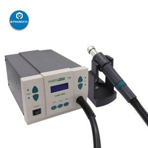 Image 5 - 110V 220V 900W PHONEFIX 861DW dijital sıcak hava yeniden işleme istasyonu kurşunsuz BGA lehimleme istasyonu cep telefonu kaynak onarım aracı