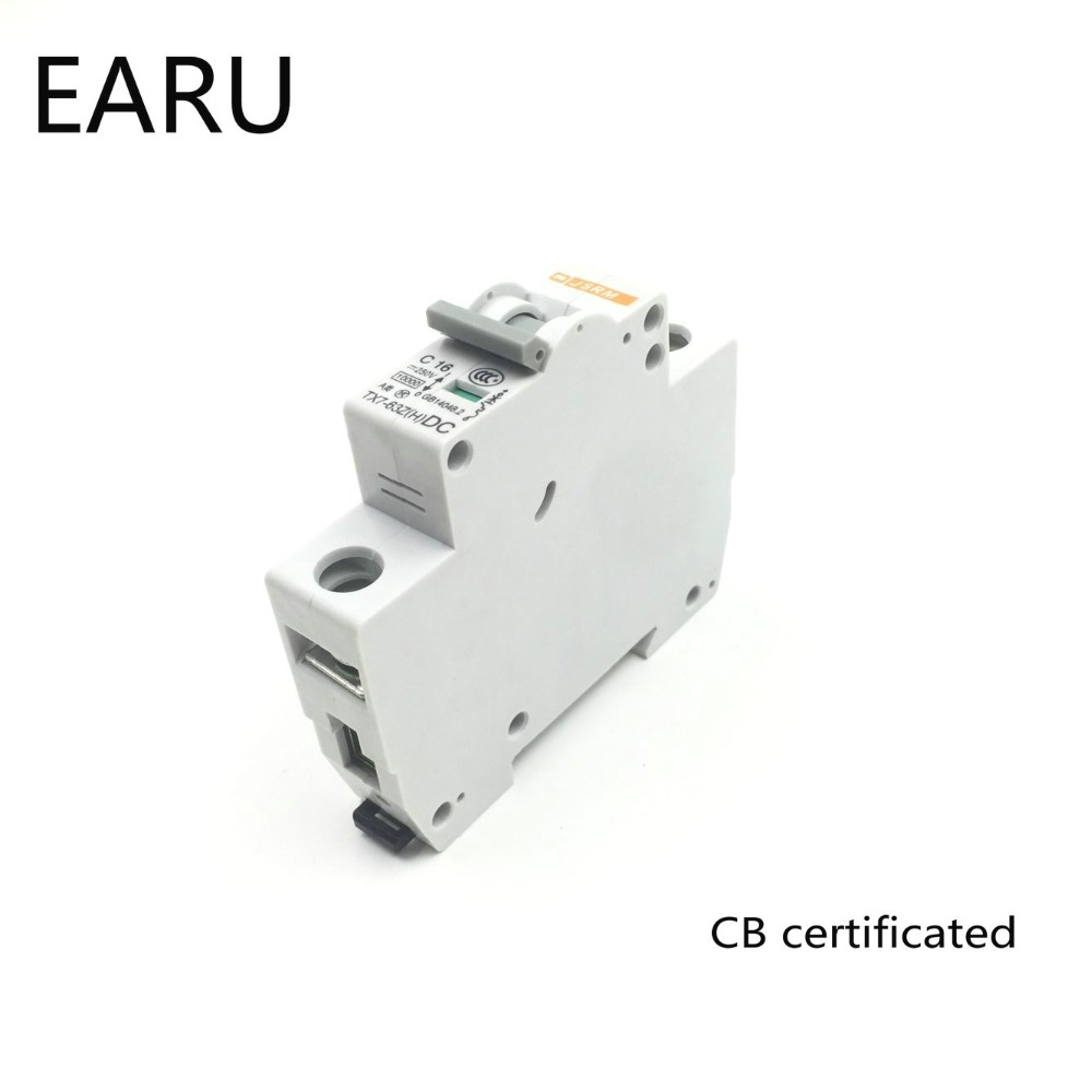 1p 32a Dc 250v Circuit Breaker Mcb For Pv Solar Energy Mccb Photovoltaic System Battery C Curve Cb Certificated Din Rail Mounted In Breakers From Home