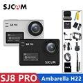 SJCAM SJ8 Pro Экшн-камера 4 K 60FPS WiFi Удаленная камера шлема Ambarella Чипсет 4K @ 60FPS Ультра HD Экстремальная Спортивная DV камера