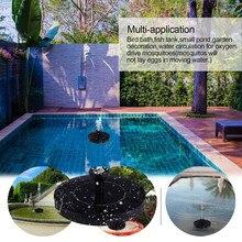 Водяной насос фонтана 2019TOP солнечный энергетический насос, птица, ванная фонтан плавающий водный Садовый пруд декор для патио G90605