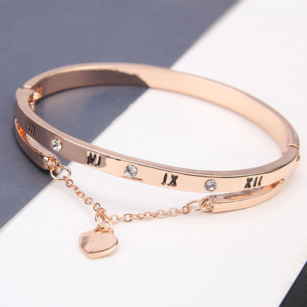 Stainless Steel Bracelet Charms: Luxury Famous Pandora Jewelry Rose Gold Stainless Steel