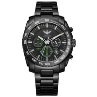 New Arrive YELANG V1210 Eco Drive Movement T100 Tritium Luminous Steel Strap Sapphire Mirror Men Business Watch Wristwatch