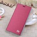 7 Color original marca Xiaomi Mi4i Mi 4i M4i flip phone case suporte de cartão Smart capa protetora para Xiaomi 4C auto sono wake up