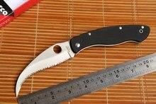 Fule spinne Zivilen C12GS folding messer VG10 stahl G10 griff Taktische Jagd obst Messer Camping Überleben außen Edc-tool