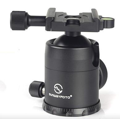 Бесплатная Доставка SUNWAYFOTO FB-44II штатива для DSLR Камеры Tripode Ballhead Профессиональный Монопод Панорамный Штатив Мяч Головой