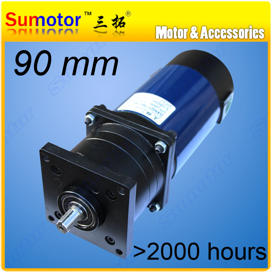 Gx90 24v low rpm dc planetary geared motor dc brushed for Low rpm motor dc