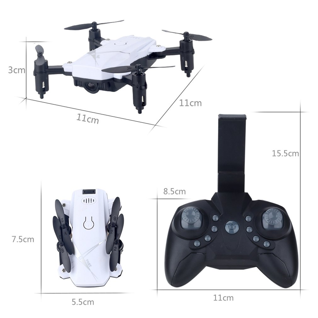 LF602 FPV Foldable RC Quadcopter Drone with 720P HD Wifi Camera and Altitude Hold Function 23