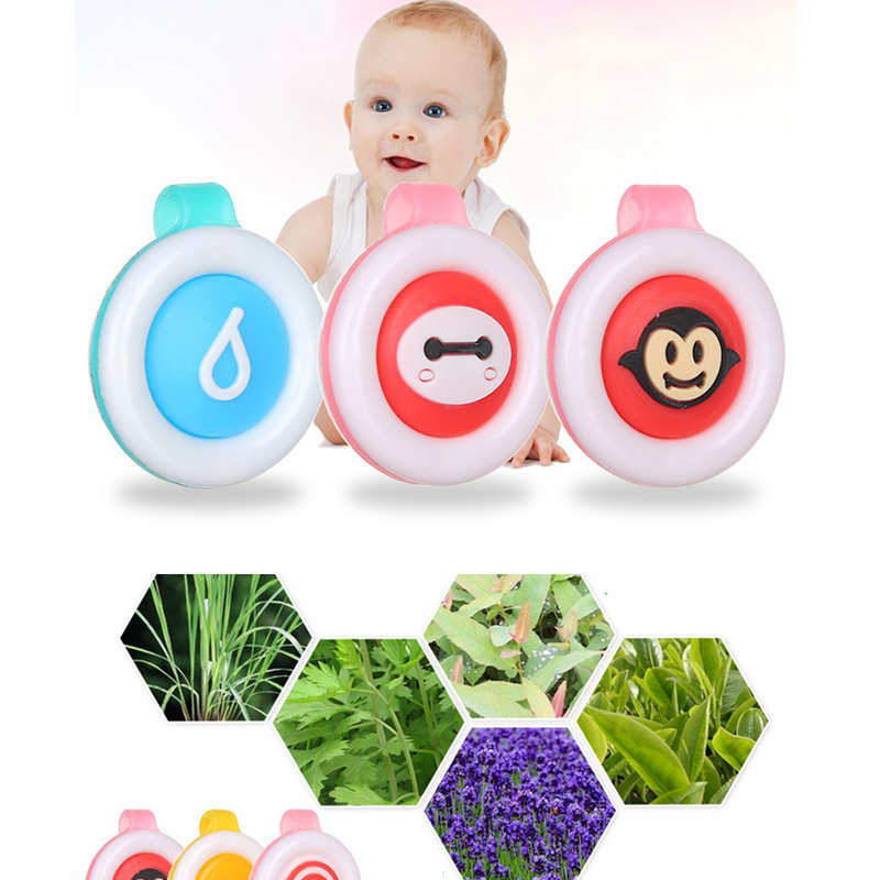 Non-toxic Mosquito Repellent Button Safe For Infants Baby Kids Buckle Mosquito Killer Household Anti-mosquito Repellent Supplies image