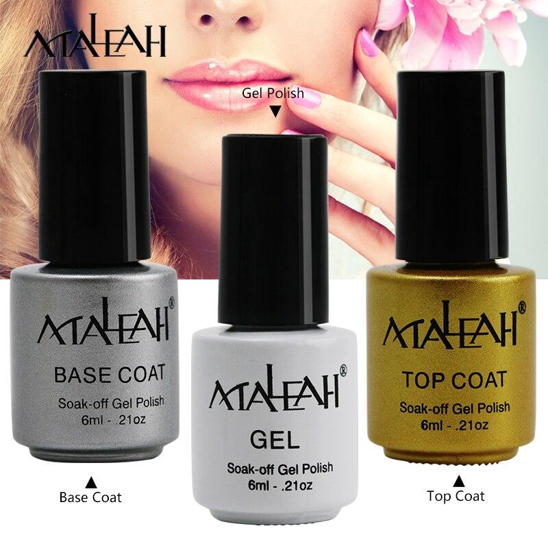 maleah vernis semi permanent 6ml uv nail gel lasting led nail lacquer need uv gel