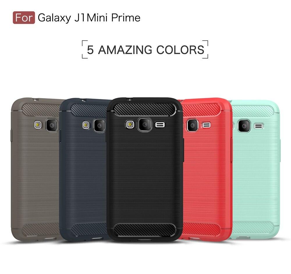 ASTUBIA For Samsung Galaxy J1 Mini Prime Case Slim Armor Carbon Fiber Soft Case For Samsung Galaxy J1 Mini Prime Cover