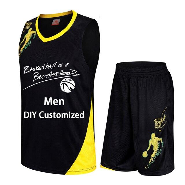 91ca3ffa0 Quick dry Basketball Set Uniforms kits Men women college basketball jerseys  blank sports Training suits sportwear DIY Customized