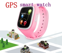 GSM GPRS GPS Locator Tracker Anti-Lost Smartwatch Child Smart Kid Safe for smart Watch Wristwatch SOS Call for iOS Android
