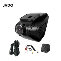 JADO Full HD 1080P Car DVR Camera Mini Car Dvr With Two Cameras Video Recorder 140