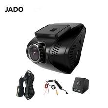 JADO Full HD 1080 P Видеорегистраторы для автомобилей Камера мини Видеорегистраторы для автомобилей с двумя Камера S-Video Регистраторы 140 Градусов Автомобильный Камера тире камера