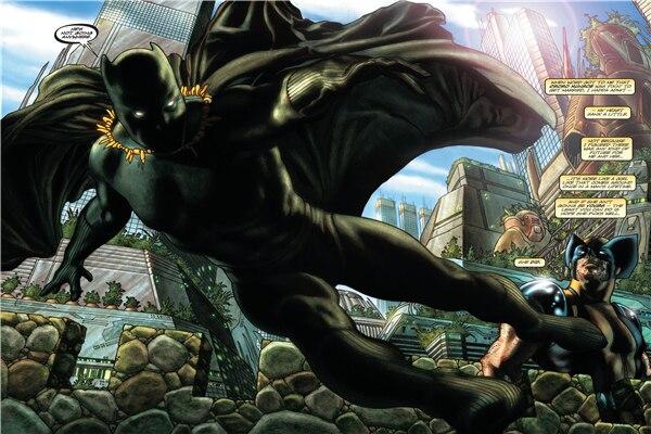 Black Panther Comic Wallpaper: Custom Canvas Art Black Panther Poster Marvel Comics