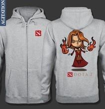 DOTA2 Lina Inverse Design Hoodie Jacket