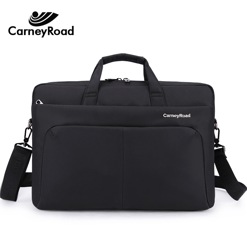 Carneyroad Large Capacity Business Briefcase For Men Women Multi-function Waterproof Messenger Bags 13 14 Inch Laptop Handbags