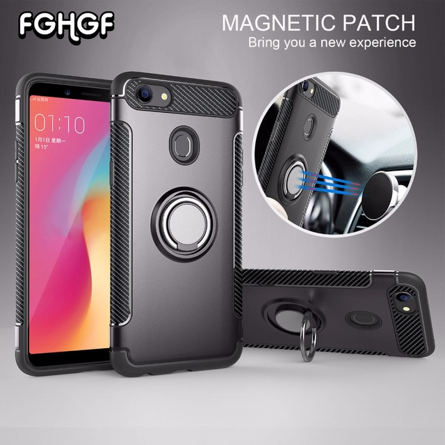 buy popular ba25b e1c34 US $1.96 36% OFF|Case For OPPO F5 Shell For ViVO V9 Y85 Case marvel silicon  Hard soft Ring armor Back Cover For OPPO F5 YOUTH Case For OPPO A73-in ...
