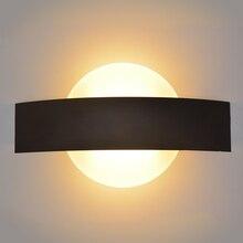 Feimefeiyou 6W אקריליק קיר מנורת AC85 265V קיר רכוב אורות פמוט מנורת דקורטיבי סלון חדר שינה מסדרון קיר אורות