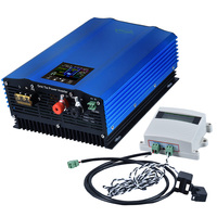 1000W Battery Discharge Auto Limit MPPT Solar DC24V 48V 72V AC110V 220V 230v Grid Tie Inverter with Limiter Sensor power inverte