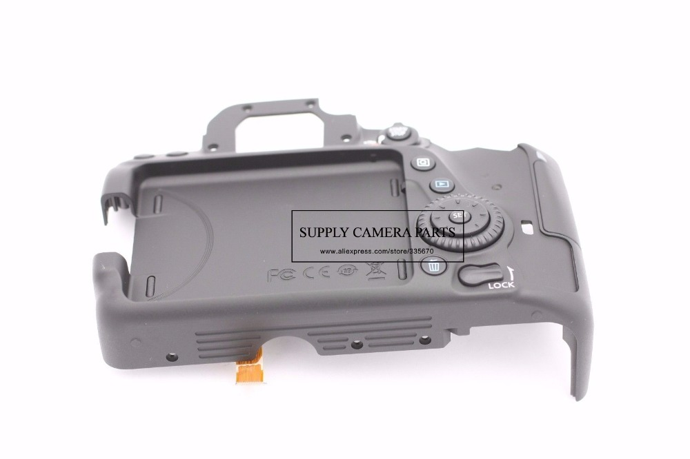 FREE SHIPPING! new for Canon EOS 80D Back Rear Cover Assembly Replacement Repair Part 100%new back cover postoperculum replacement for nikon d600 shell cover d610 back cover camera repair parts