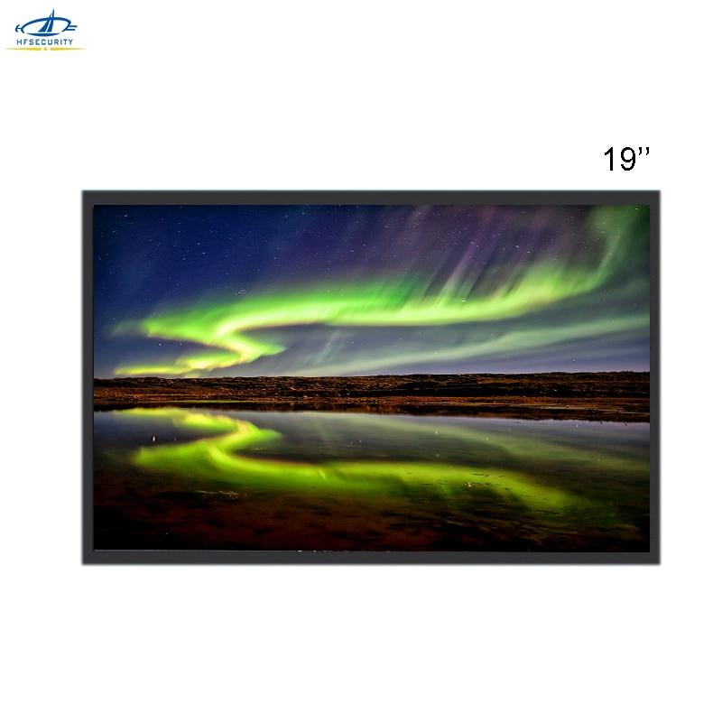 HF 19 Inch 1280 * 1024P HD VGA HDMI BNC CCTV Monitor For Video Surveillance  IPS Screen Gaming Display For DVD NVR PC Laptop 1