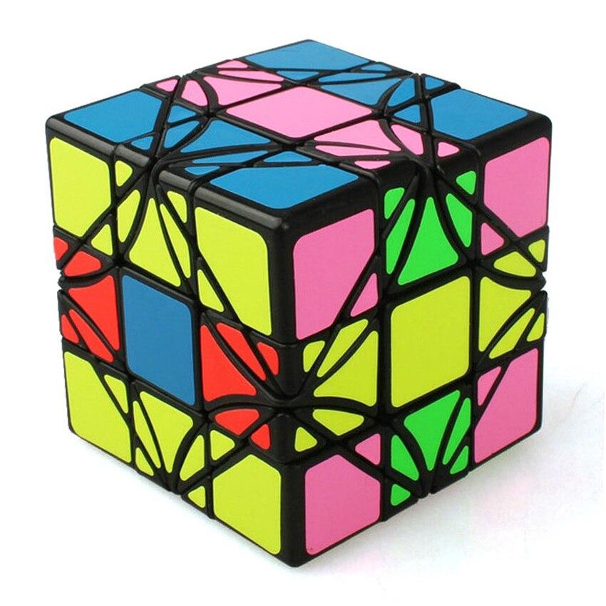 OMoToys LimCube 3x3x3 Irrégulière Casse-tête Cube Magique