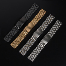 Stainless Steel Strap Watchband for Pebble Smartwatch for Samsung Galaxy Gear 2 SM-R380 for MOTO 360 2nd smart watch men's 46mm