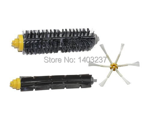 купить Bristle Brush Flexible Beater Brush 6-Armed Side Brush Mini Kit for iRobot Roomba 600 700 Series 620 630 650 660 760 770 780 дешево