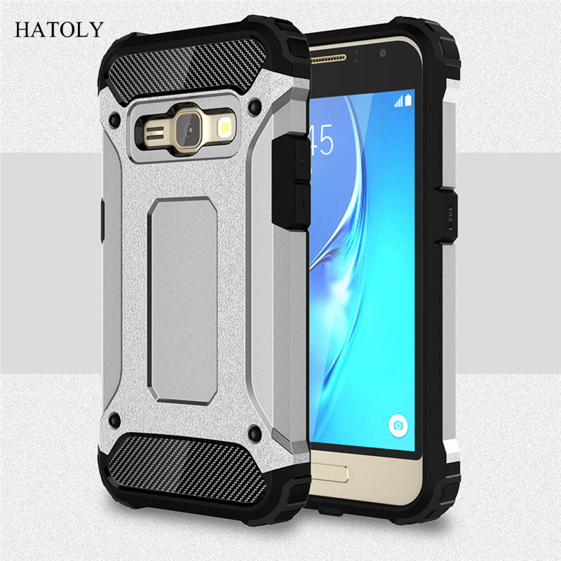 super popular 40cd1 46311 US $2.55 40% OFF|sFor Cover Samsung Galaxy J1 2016 Case Rubber Armor Hard  Phone Case For Samsung Galaxy J1 2016 Cover For Samsung J1 2016 J120F <-in  ...