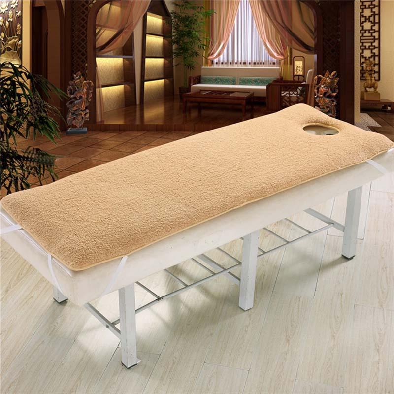 Chpermore Beauty Salon Massage Mattresses Keep warm Lamb health care sponge SPA salon Tatami