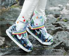 2018 Womens Reusable Middle Rain Shoes Covers all Protect Walking Riding and Working Outdoor All Size DYYZ Store