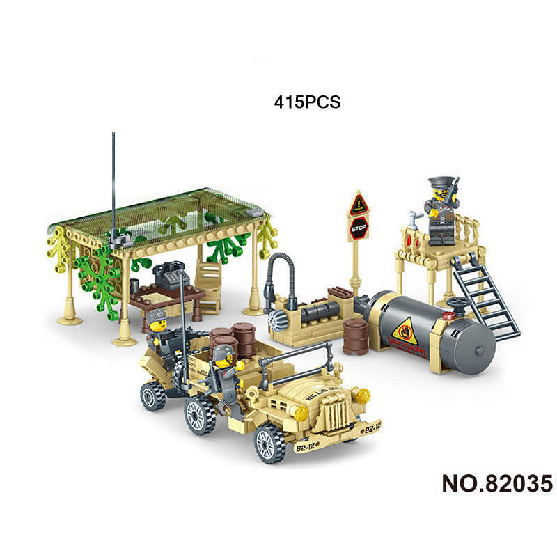 World war batisbricks Battlefield Command centre block ww2 germany Caucasus Eagle Team army minifigs Willys jeep bricks toys