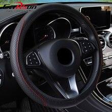 Direksiyon kılıfı Örgü Üzerinde direksiyon kılıfı Cubre Volante Oto Araba JANT KAPAĞI Araba Aksesuarları
